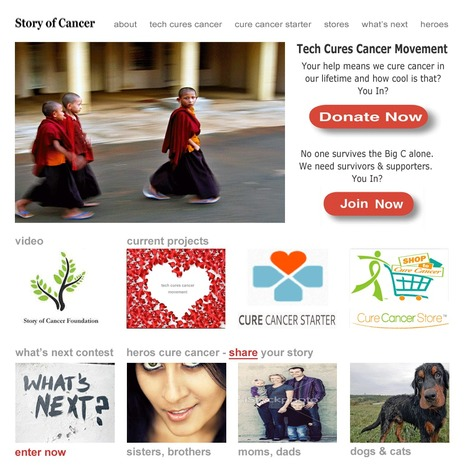 Design For Designers - Story of Cancer Foundation First Look & Website Design Tips | Design Revolution | Scoop.it