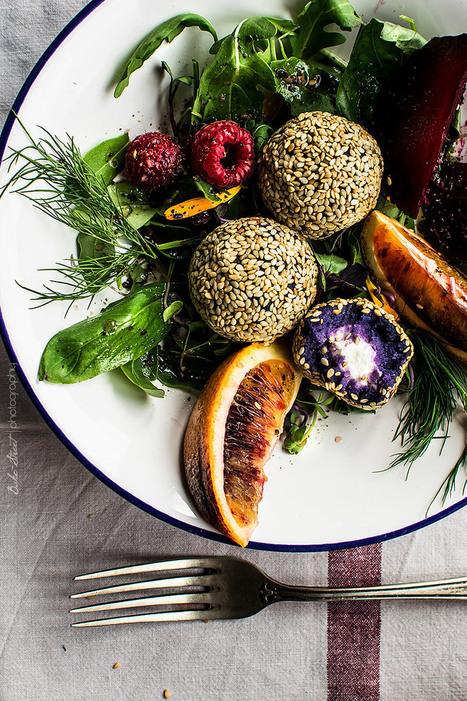 Ensalada de patata violeta con sésamo y naranja | Passion for Cooking | Scoop.it