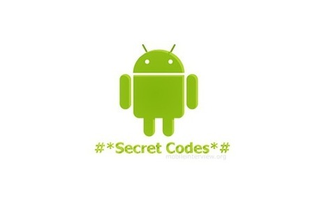 Complete list of hidden Android secret codes | How to for Android | Scoop.it