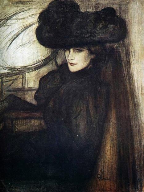 Arte XIX: Dama con velo negro   El Arte del siglo XIX   Scoop.it
