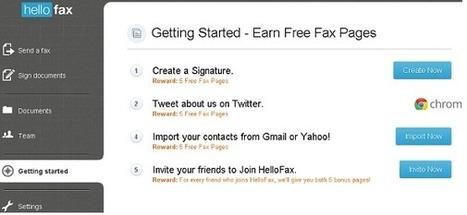 Logiciel gratuit en ligne hellofax 2013 - 50 pages gratuites de fax par mois | Les bons plans de la petite entreprise | Scoop.it