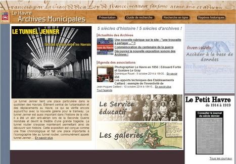 Les Archives Municipales de la ville du Havre en ligne avec Le Petit Havre numérisé (1914-1919) | Nos Racines | Scoop.it