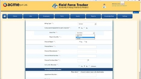 Warranty and Contract Management for Field Service Management | Traking Software | Scoop.it