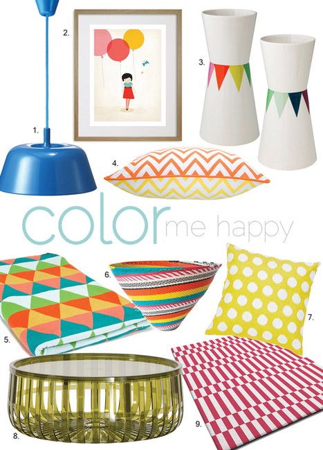 Cushion Spot: STYLE FILE: Colors that make you smile | Designer Cushions | Scoop.it