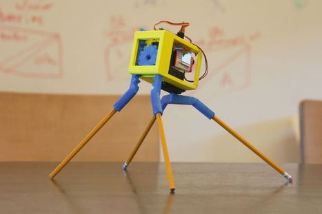 Instructables Designer Builds 3D Printed 'Walkerbot' Featuring Arduino | Arduino Focus | Scoop.it