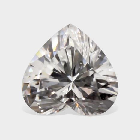 Hug Collection of White Heart Shape Diamonds for Sale | Loose Diamonds | Scoop.it