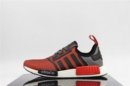 Adidas Originals NMD R1 Farbe Lush Red Black White Mens | Nike Running Shoes | Scoop.it
