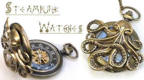 7 Wonderfully Unique Steampunk Pocket Watches   VIM   Scoop.it