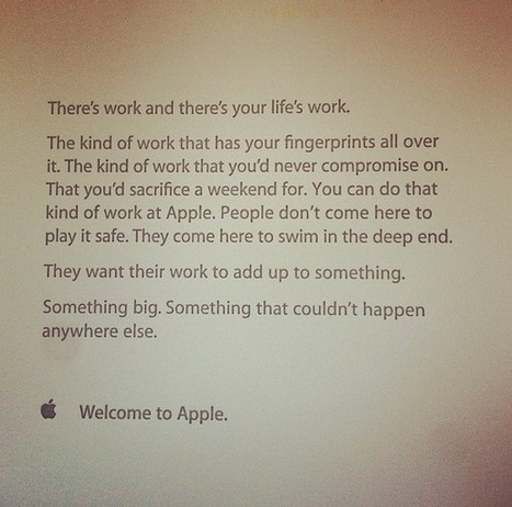 5 Ways Apple's Culture Can Improve Your Classroom | Edudemic | Modern Educational Technology and eLearning | Scoop.it