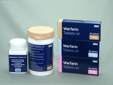Patients underestimate risk of warfarin emergencies | Heart and Vascular Health | Scoop.it