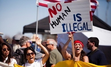 Six arrested as Southern California demonstrators clash over immigration | Olimpia Bineschi | Scoop.it