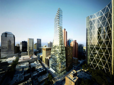 A Twisting LEED Platinum Telus Sky Tower for Calgary by BIG | sustainable architecture | Scoop.it