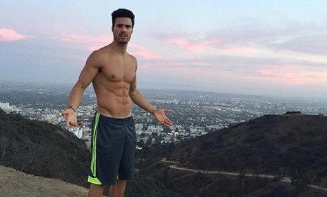 Gil Soares praticamente nudo per Gregg Homme | Gayburg | Scoop.it