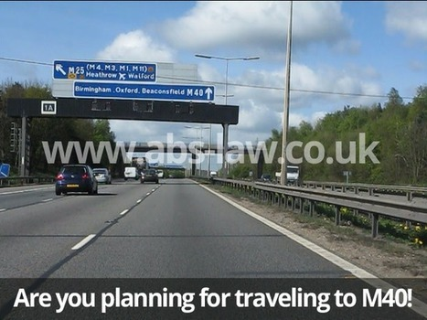Are you planning to travel towards M40 Buckinghamshire? | My Website / Blog | Do you want to Make a claim against Road Accident | Scoop.it