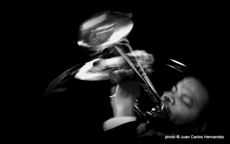 #photography #jazz Jeremy Pelt #Switzerland, #photo by Juan Carlos Hernandez | JAZZ | Scoop.it