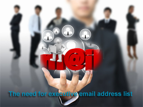 CEO Email Addresses | Chief Executive mail ID |Management Email List | Executive Database | Scoop.it