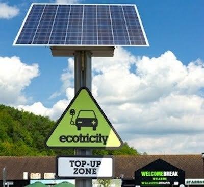 """Energía solar en las nuevas autovías """"eléctricas""""   El autoconsumo y la energía solar   Scoop.it"""