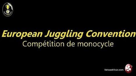 Démonstration de monocycle trial lors de European Juggling Convention 2013 | Jonglerie | Scoop.it