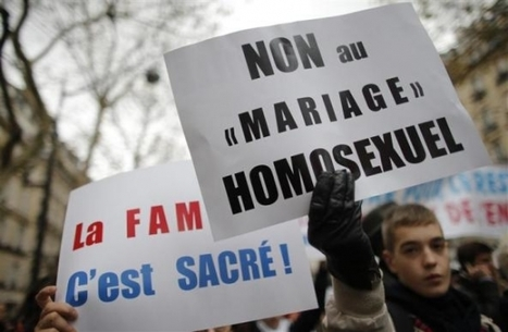 French Catholics march against planned legalisation of same-sex ... | Should homosexuals have the right to adopt? | Scoop.it