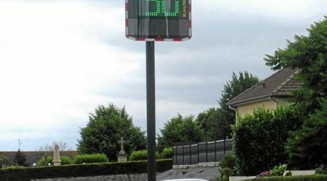 Un radar pédagogique installé sur la commune | Radar Pédagogique | Scoop.it