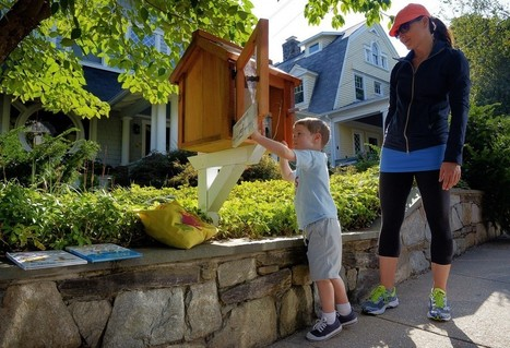 Free lending libraries sprouting on front lawns in D.C. area help create neighborhood bonds | Daring Ed Tech | Scoop.it