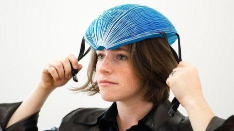 Paper bike helmet wins Dyson award - BBC News | Matters of Design | Scoop.it