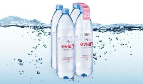 Ecologie : Evian supprime une partie de ses emballages en plastique - Pepsnews - L'actu positive | Responsabilité Sociétale des Entreprises et des Organisations | Scoop.it