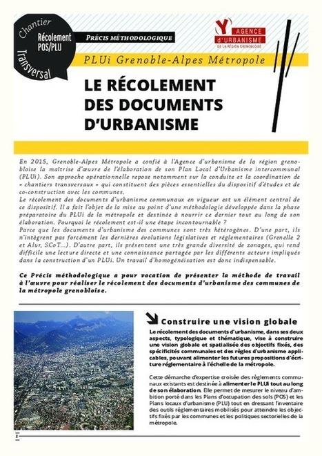 PLUi Grenoble Métropole : précis méthodologiques - Fnau   PLU et PLUi : veille (par l'agence d'urbanisme de Brest - ADEUPa)   Scoop.it