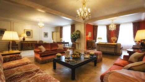 La Suite Royale du Bristol: quel luxe! - Le luxe a un prix: 1,3 million d'euros | Epicure : Vins, gastronomie et belles choses | Scoop.it