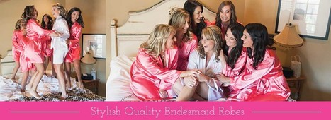 Bridesmaid Robes & Bridal Party Gifts   Event Accessories: Ideas, Designs, ETC.   Scoop.it