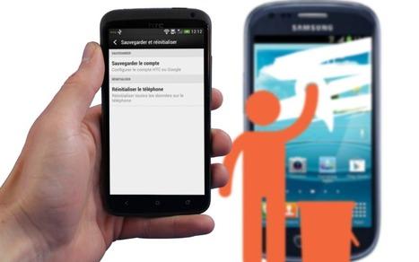 Effacer ses données avant de revendre son smartphone : marche à suivre | Phil's scoops | Scoop.it