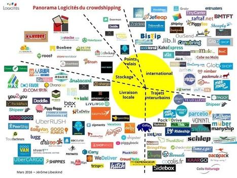 La nouvelle version de la map mondiale du crowdshipping | Nouvelle Distribution | Scoop.it