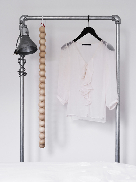 "Atelier Decor: Clothing rack. nordic inspiration | ""Interior Styling, Food Styling and Parties"" 