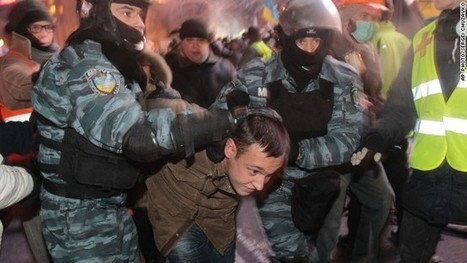 Ukraine protesters rebuild barricades after crackdown   Assignment 3   Scoop.it