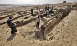 A tomb discovered in Giza - Daily News Egypt | Ancient Egyptian World | Scoop.it