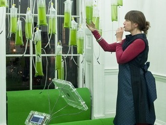 """Tweetable, Interactive Algae Farm is Energy-Generating """"Cyber-Garden"""" (Photos)   influence of the use of new materials in the industrial design on the environment   Scoop.it"""