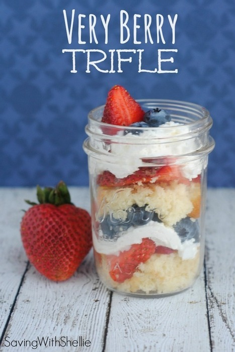 RECIPE: Very Berry Trifle   After Retirement   Scoop.it