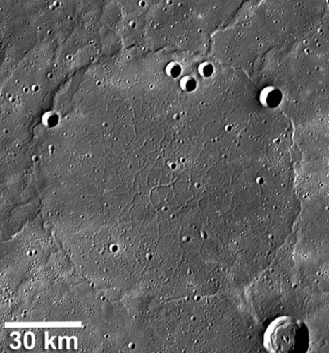 Mercury Photos Reveal Strange 'Pie Crust' Surface | Conformable Contacts | Scoop.it