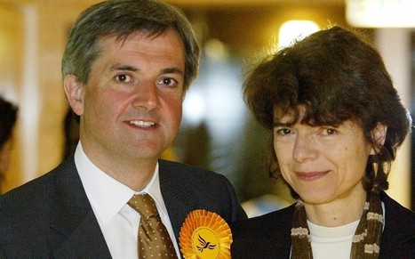 'Dodgy investments' helped Chris Huhne make his millions, ex-wife claims - Telegraph | The Indigenous Uprising of the British Isles | Scoop.it