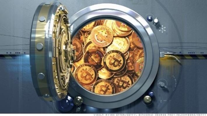 Bitcoin 'vault' company raises $20 million from big-name investors - Fortune   money money money   Scoop.it