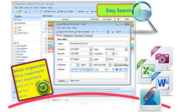 Free To Do List Software, Task Management Software - Efficient To-Do List - Free Download | Life, software, planner, organized! | Scoop.it