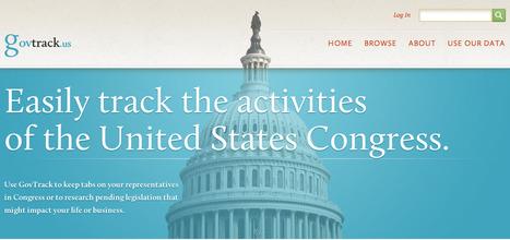 GovTrack.us: Tracking the U.S. Congress   eParticipate!   Scoop.it