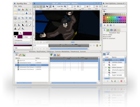 Synfig Studio: free and open-source 2D animation software | Better teaching, more learning | Scoop.it