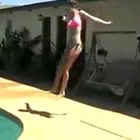 Girl misses pool jump, breaks feet, asks Internet for money | It's Show Prep for Radio | Scoop.it