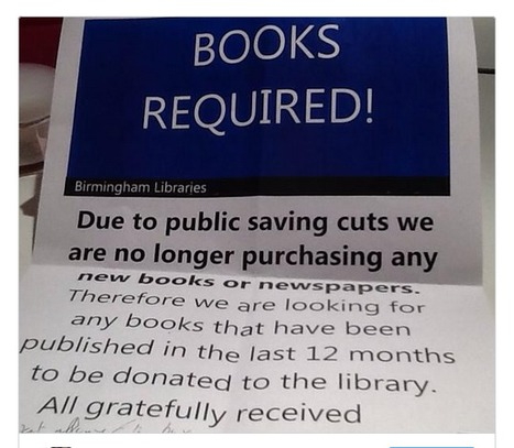 Outrage as city with new £188m library ask readers for help buying books | Librarysoul | Scoop.it