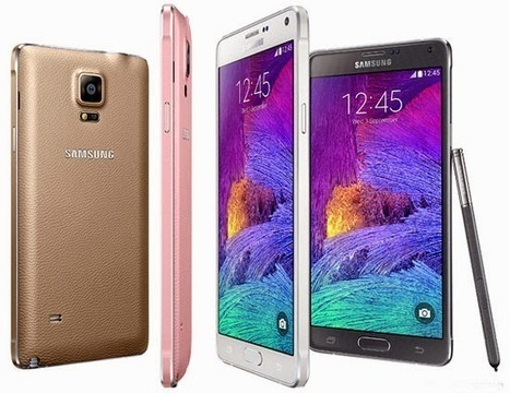 Iniloh Spesifikasi Lengkap dan Harga dari Samsung Galaxy Note 4 dan Edge | Harga Handphone Terbaru | Scoop.it