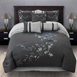Black And Silver Bedding decor | Bedroom Decor | Scoop.it