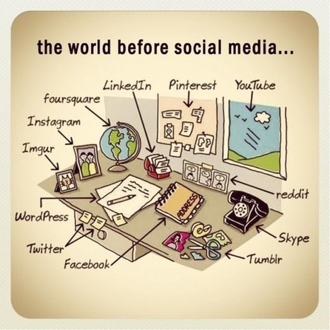 How The World Worked Before Social Media - Edudemic   BLAHHCANDY Things Learning   Scoop.it