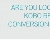 Infographic: Are you looking for kobo reader conversion services? | Ebook Conversion Service | Scoop.it