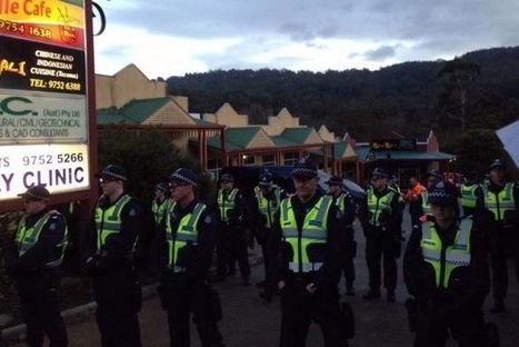 Nine arrests since protests at McDonald's proposed site began - ABC News (Australian Broadcasting Corporation) | Protestants fighting against Tecoma Mcdonald's | Scoop.it